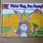 Which Way, Ben Bunny? (Flap Book)