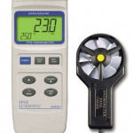 Anemometer CFM Datalogger , 5 Year Warranty , Sper Scientific , 840001