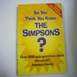So You Think You Know The SIMPSONS?