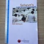 Selwyn's Law of Employment (13th Edition, 2004)