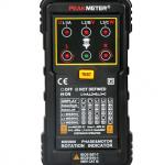 เครื่องวัดลำดับเฟส MS5900 Motor 3-phase Rotation Indicator Meter ราคาถูก