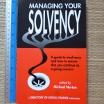Managing Your Solvency