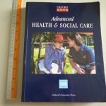 Advanced Health & Social Care (Oxford GNVQ)