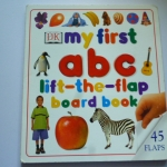 My First ABC (Lift-the-Flap Board Book)