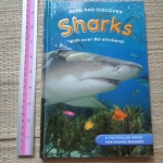 SHARKS (Read and Discover) With Over 50 Stickers!