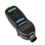เครื่องวัดความเร็วรอบ Digital Tachometer ราคาถูก มีประกัน รุ่น DT-2236C ใช้งานทั้งแบบแสง (Non-contact) และแบบสัมผัส (Contact) จาก taiwan