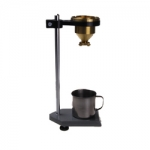 เครื่องวัดความหนืด ของเหลว (Desktop Flow CUP Viscometer) แบบถ้วย มีขาตั้ง จับเวลา รุ่น LND-1 ราคากันเอง