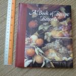 A Book of Recipe Records