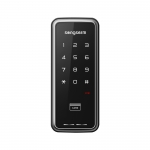 LOXguard Digital Door Lock รุ่น Songserm SSR-3201H (Code+Card) - สีดำ
