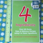 4 Ingredients (Over 340 Quick, Easy & Delicious Recipes Using 4 or Fewer Ingredients)
