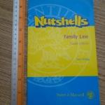 NUTSHELLS: Family law (Fourth Edition)