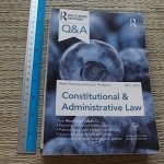 Constitutional & Administrative Law (2011 - 2012)
