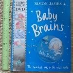 Baby Brains (Story Book and DVD/ Paperback)