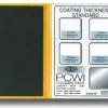 แผ่นสอบเทียบความหนาสี (Calibration Foils-Paint) 0-12500 um