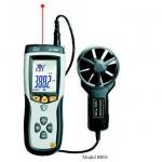การใช้งานเครื่องวัดความเร็วลม (Anemometer)
