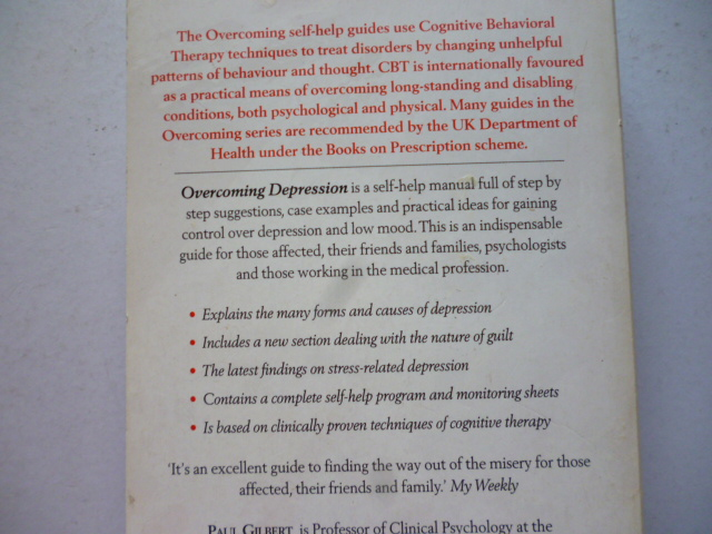 The complete cbt guide for depression and low mood: cooper, prof.